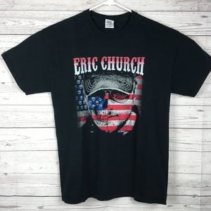 Gildan Shirts - Eric Church Black Concert Tee T Shirt Large L